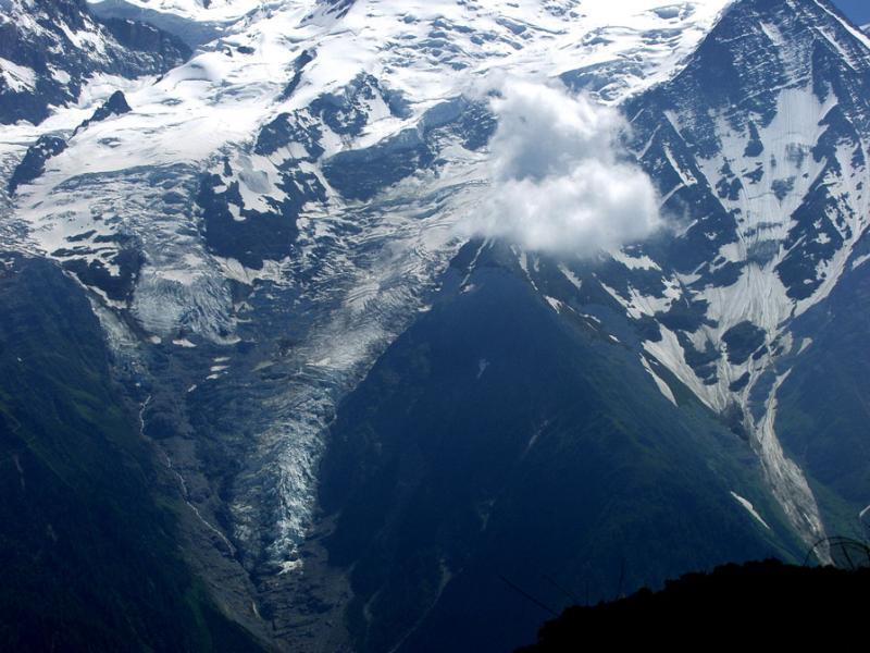 Glaciers des Bossons et de Bionnassay
