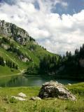 ...le lac d'Arvouin !