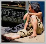 Homeless Under the L on Brighton Beach Avenue