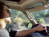 ed driving us towards the Playa!