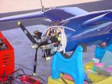 Corsair radio control airplane
