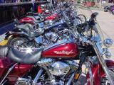Easter Sunday bike show