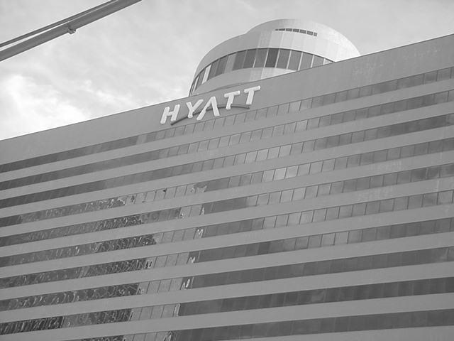 downtown Hyatt hotel in Phoenix Arizona