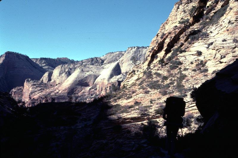 Hiking into Daylight (Zion)