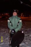 Lindsay in snow