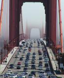 Crowded bridge