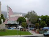 Downtown theatre district