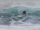 Surfing in Morro Bay California