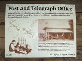 Post and Telegraph Sign