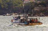 Fishing boat on Sydney Harbour