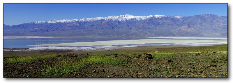 Panamint Mountains : Death Valley