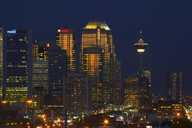 Calgary Downtown Skyline #2