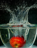 Apple bobbing by pablo