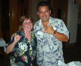 Mike from Globus with Deb