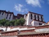 Back view of the Potala Palace.