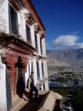 Me on the steps of Potala.