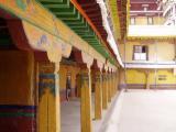 Corridor around the entrance courtyard.