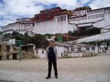 Me in front of the Potala.