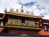 Balcony of the Jokhang.