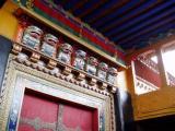 Decorative details above the door of the Jokhang.