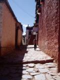 Me walking in a alley.