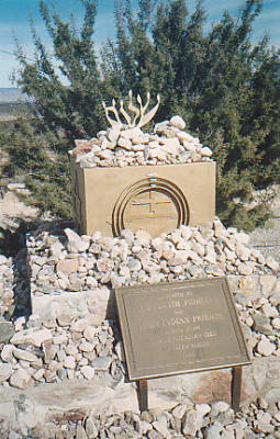 Jewish Memorial with Plaque