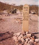 Lester Moore (unusual gravestone inscription)