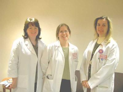 Teri, Dr. VM, Monica- Trial nurses