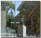 Door reflections - from outside