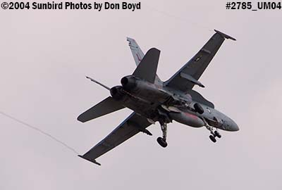 USN F/A-18 Hornet #162904 VFA-201 over Miami Lakes military aviation stock photo #2785