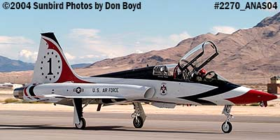 Ross Perot Jr.s T-38A Talon N38MX (ex NASA N5784NA) at the Aviation Nation practice Air Show stock photo #2270