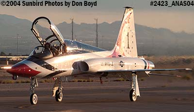 Ross Perot Jr.s T-38A Talon N38MX (ex NASA N5784NA) at the Aviation Nation practice Air Show stock photo #2423
