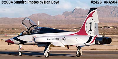 Ross Perot Jr.s T-38A Talon N38MX (ex NASA N5784NA) at the Aviation Nation practice Air Show stock photo #2426