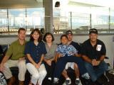 Cory (CRC Mgr) & 'Ohana bound for Disneyland on AQ482