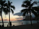 A Waikiki Sunset