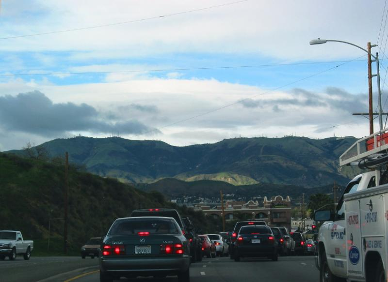 rush hour...might as well take pictures