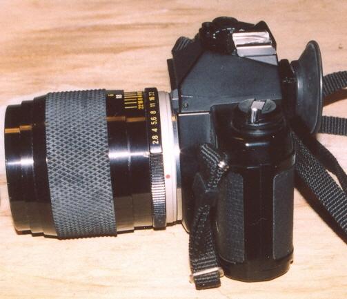 Yashica FX-3 2000 Side