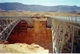 Navajo Bridges at Marble Canyon