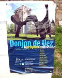 Poster listing American sculptors on exhibit
