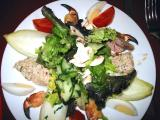 Seafood salad at Le Restaurant