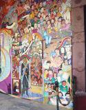 depicting the history of Mexico