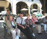 Waiting for the mini-bus in Querétaro