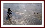 Riding along the Seine