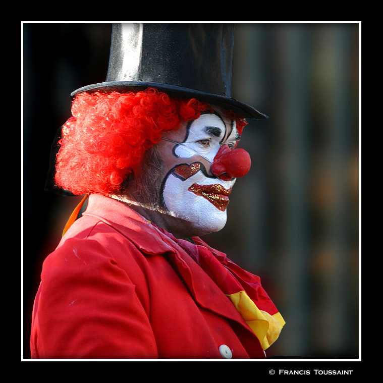 The clown of  the Luxembourg