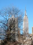Empire State Bldg from 1st Ave  33rd Street