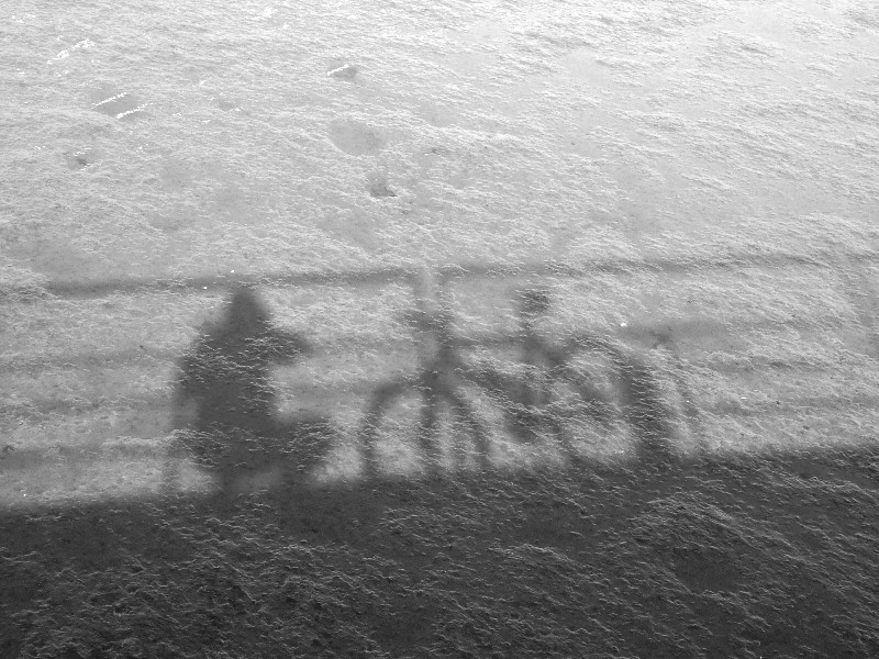 moi même... and my bike I