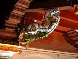 Pillar ornament - Chettinad Palace