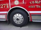 Tempe fire truck wheel