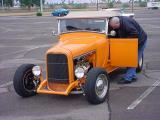 orange roadster