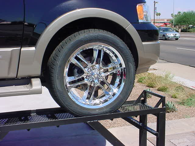 Expedition wheel
